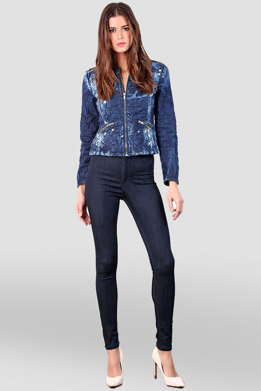 Women Black Denim Skinny Jeans