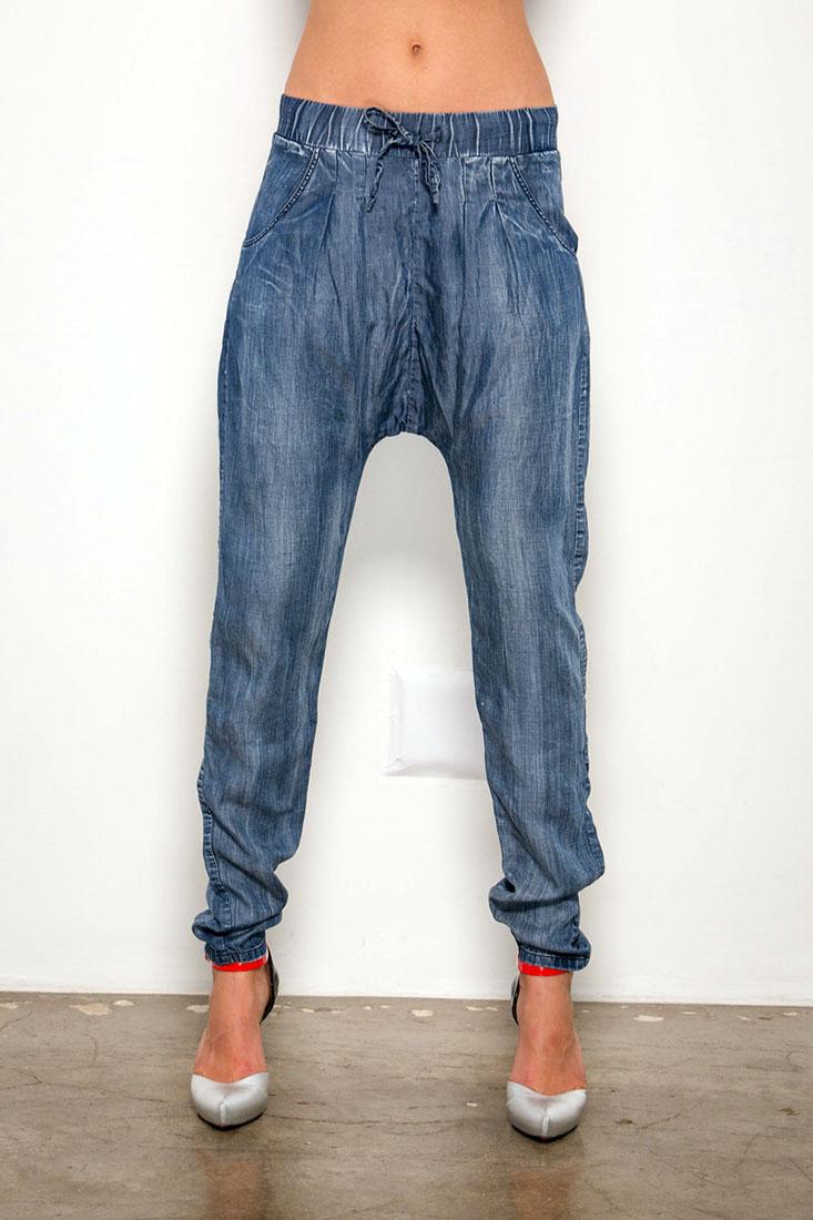 Vintage High Waisted Trousers, Sailor Pants, Jeans Standards  Practices Elizabeth Womens Jogger Pants Indigo Tencel  Dark Denim Size XL $78.00 AT vintagedancer.com