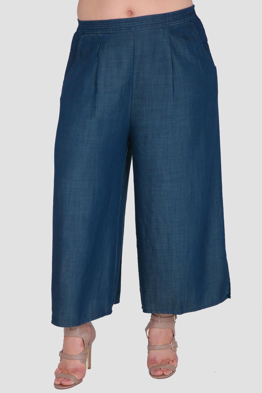 625f967ca5d Standards   Practices Plus Size Women s Wide-Leg Cropped Denim Palazzo  Pants. Sale. now. 1 6