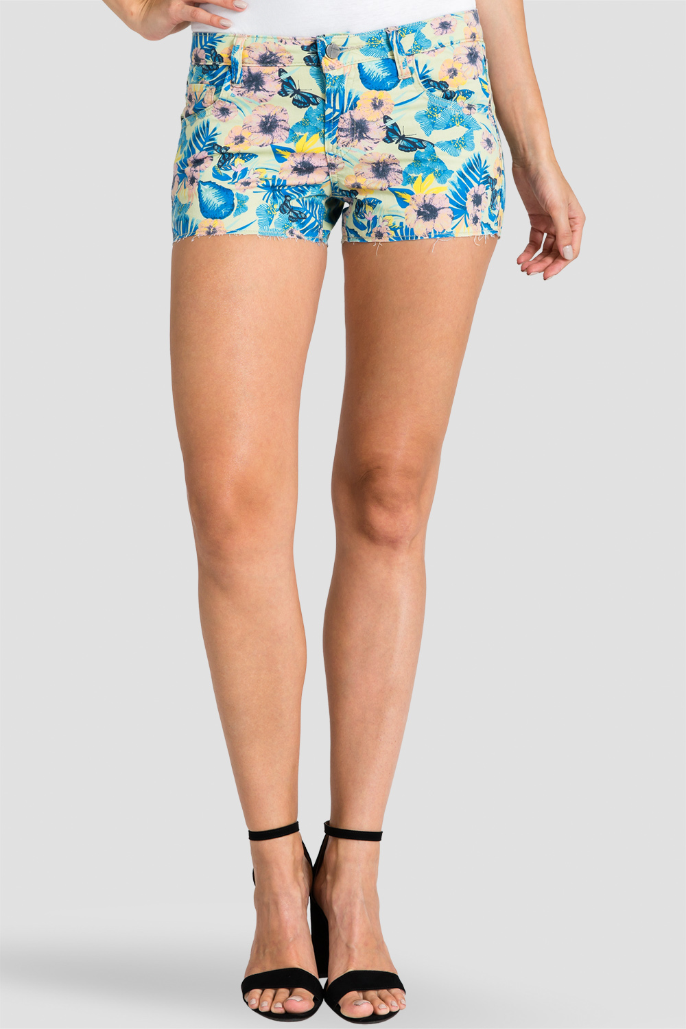 floral shorts for women