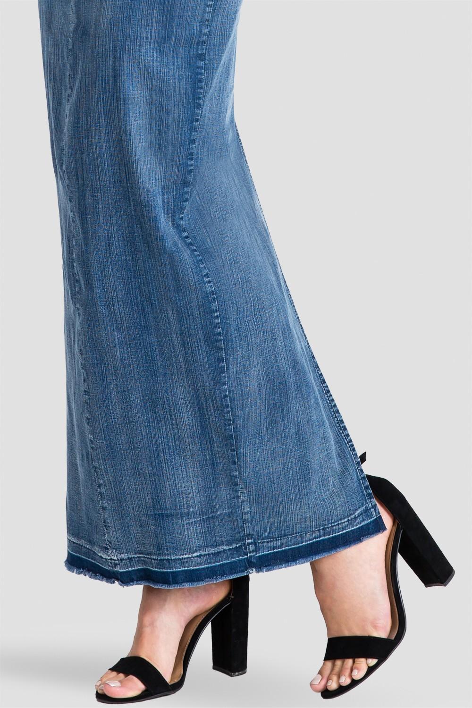 Women's Denim Maxi Dress
