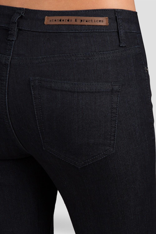 Indigo High Waisted Denim Skinny Jeans