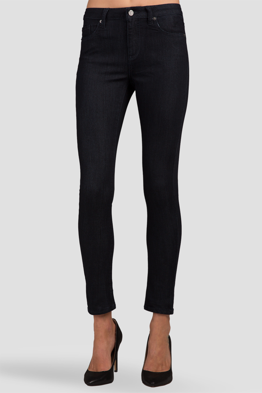 Women Dark Rinse Denim Skinny Jeans