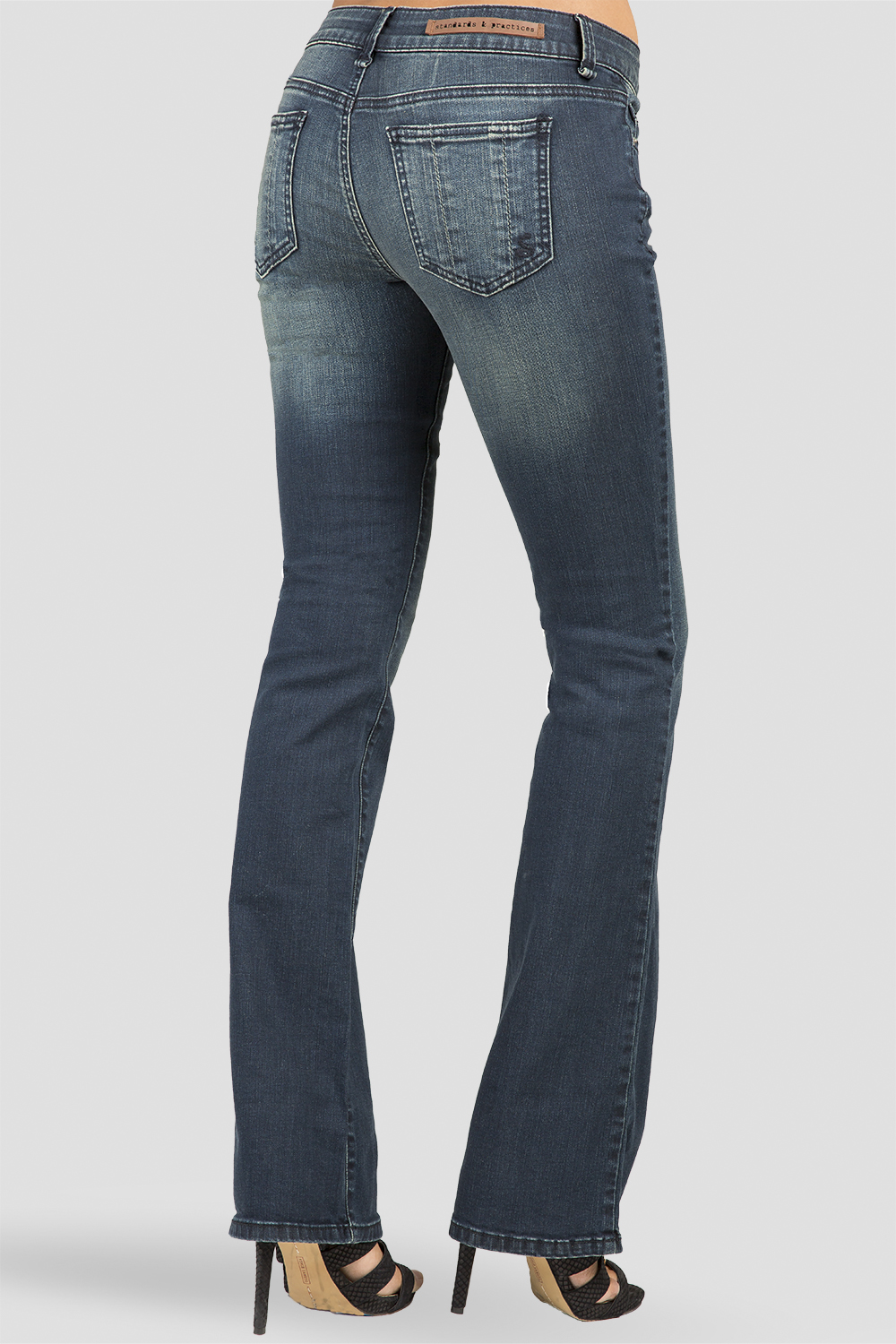 Women Indigo Bootcut Denim Jeans