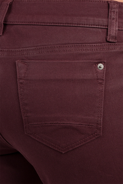 Cabernet Oxblood Red Skinny Jeans