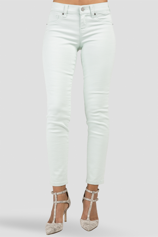 Women Mint Denim Skinny Jeans