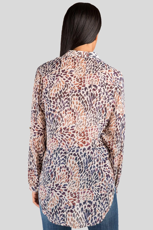 Button Down Silk Blouse