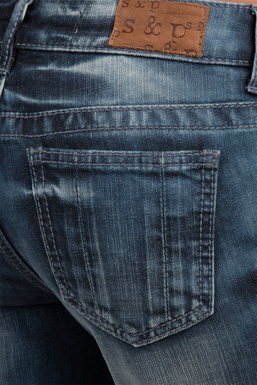 Denim Low Rise Boyfriend Jeans