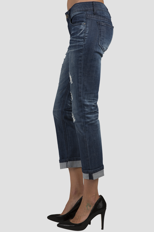 Women Denim Boyfriend Jeans